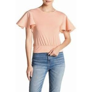 Abound Flutter Sleeve Tee XXS